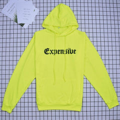 EXPENSIVE FLUORESCENT HOODIE