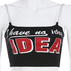 I HAVE AN IDEA CHAIN VEST