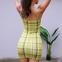 BODYCON STRAP SOILD DRESS