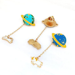 PLANET PINS (SET/5PCS)