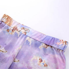ANGEL BIKER SHORTS