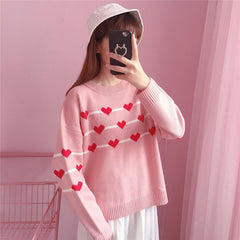 HEART KNITTED