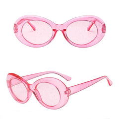 GLITTER TRANSPARENT SUNGLASSES
