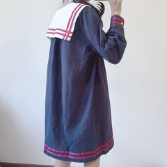 RETRO NAVY SAILOR DRESS