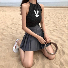 BUNNY LOGO HAITER TOP (3 COLORS)