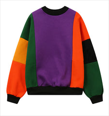 BLOCK COLOR CREWNECK