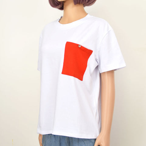 RED PATCH TOP