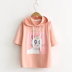 SAILOR MOON LUNA HOODED