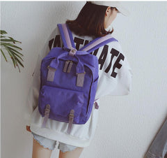 PASTEL BLOCK BACKPACK