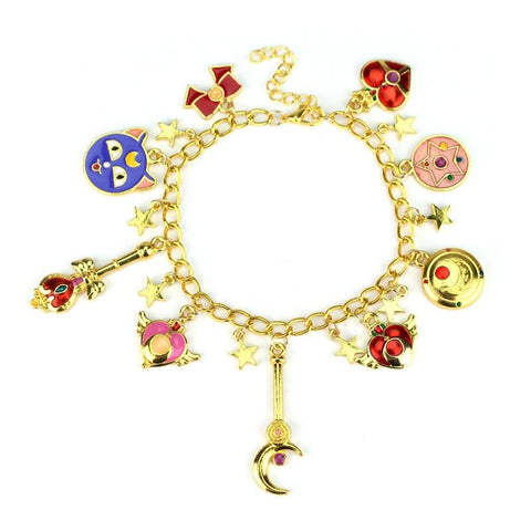 SAILOR MOON CHARM BRACELET
