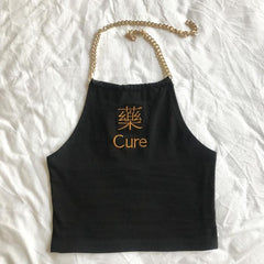 CURE EMBROIDERED TUBE VEST