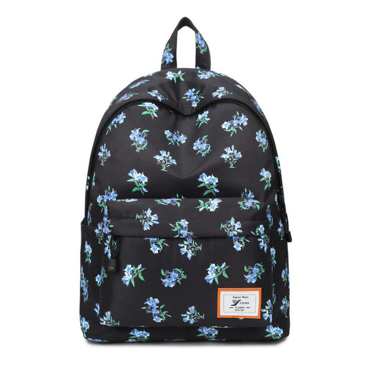 BACK FLOWERY BACKPACK
