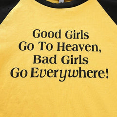 BAD GIRLS CROP TOP