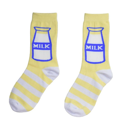 YELLOW MILK SOCKS
