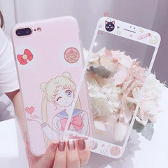 SAILORMOON CASE AND PROTECTOR (I6 I6+ I7 I7+ I8 I8+)