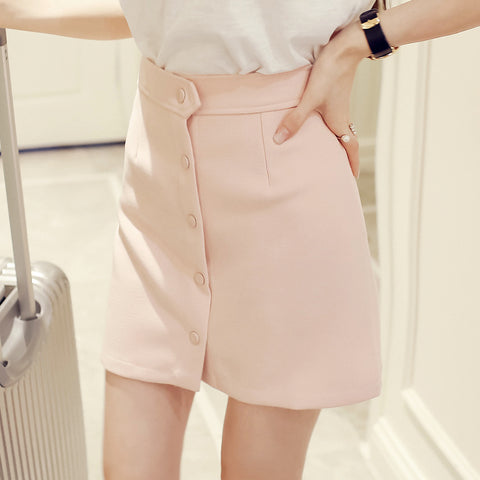 CUTE BUTTON UP SKIRT