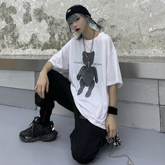 ALWAYS MISS YOU VERY MUCH BEAR PRINT TEE