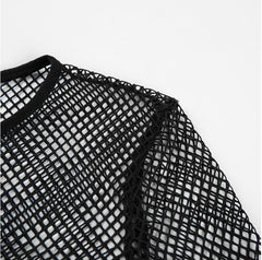 MESH FISHNET TOP