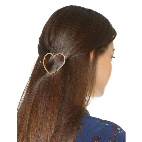 HEART HAIR CLIP (set)