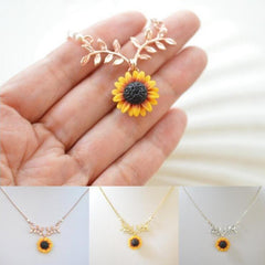 SUN FLOWER NECKLACE (3 PCS)