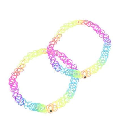 RAINBOW CHOKER (2 PCS)