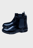 Galatea Black Chelsea Boots
