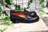 BELLA BLACK - Made in Italy Leather Loafers