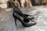 Kelly Black Pumps