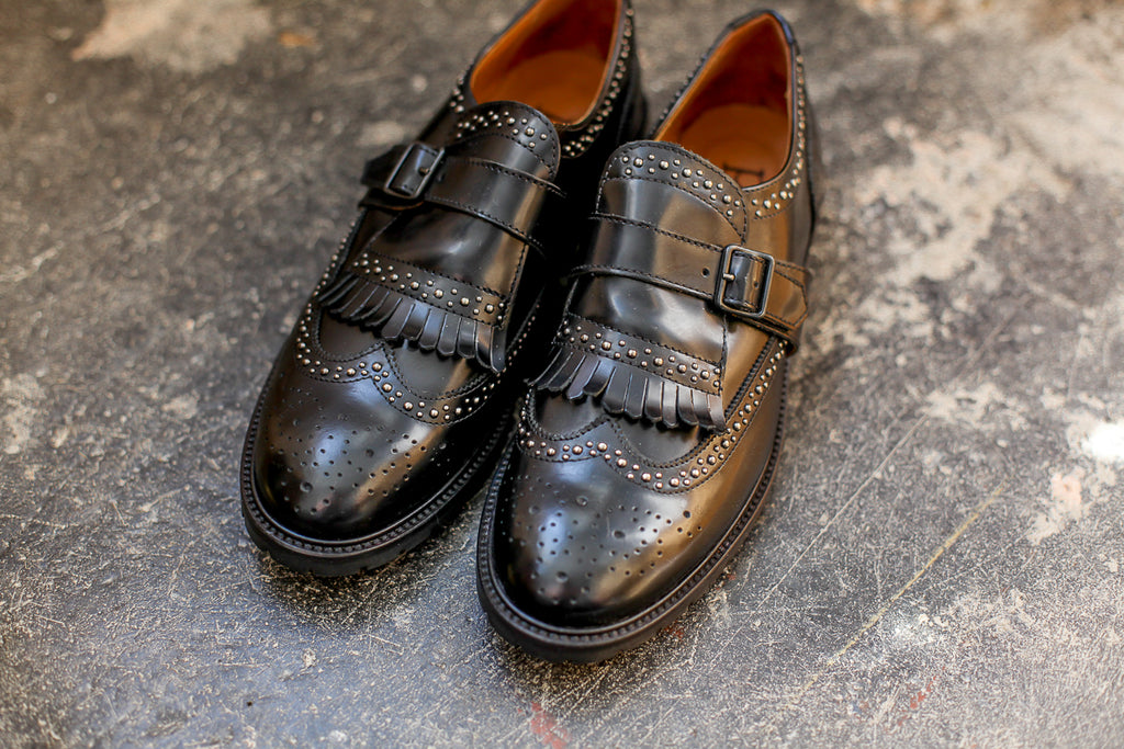 Elisa Black Brogues