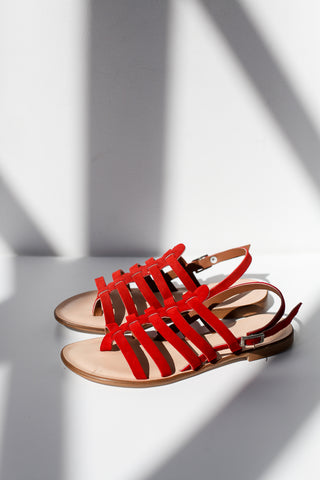 Giada Red Sandals