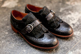 Kyra Black Brogues