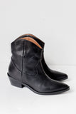 Clint Black Cowboy Ankle Boots