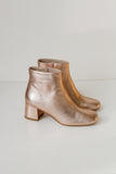 Molly Metallic Rose Gold Boots