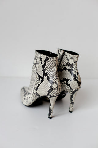 Venus Snake Ankle Boots