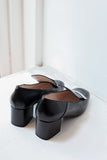 Eva Black Loafers