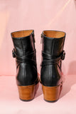 India Black Boots