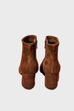 Jillian Brown Suede Boots