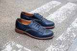 Julia Navy Blue Brogues