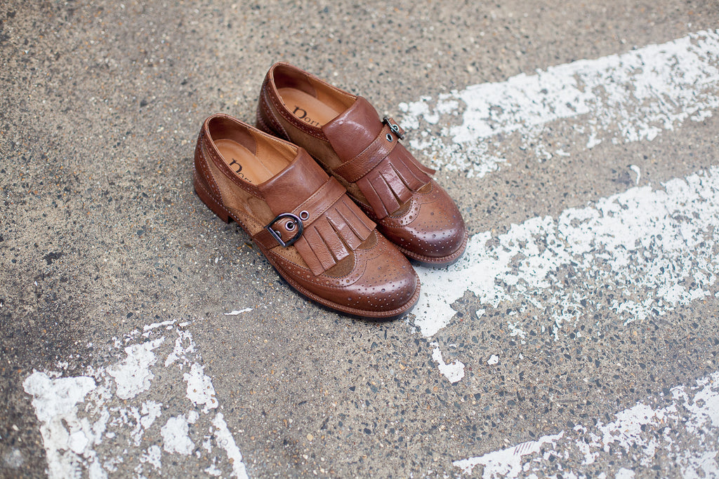 Kyra Brown Brogues