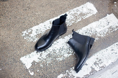 Lily Black Chelsea Boots