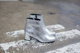 Molly Silver Ankle Boots