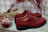 Serena Burgundy Shoes