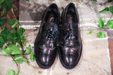 Primo Amore Black/Grey Brogues