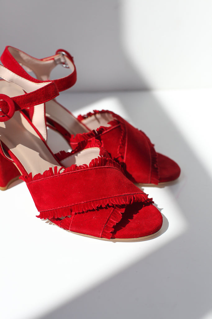 Roma Red Sandals