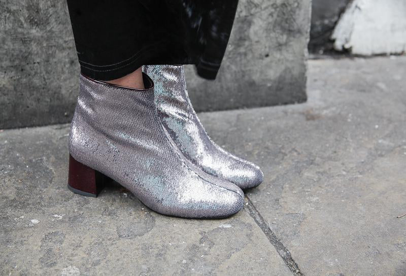 Molly Sparkle Ankle Boots