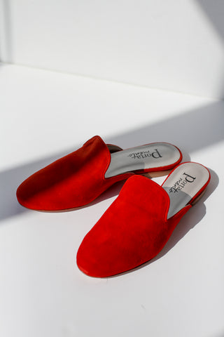 Sian Red Slippers