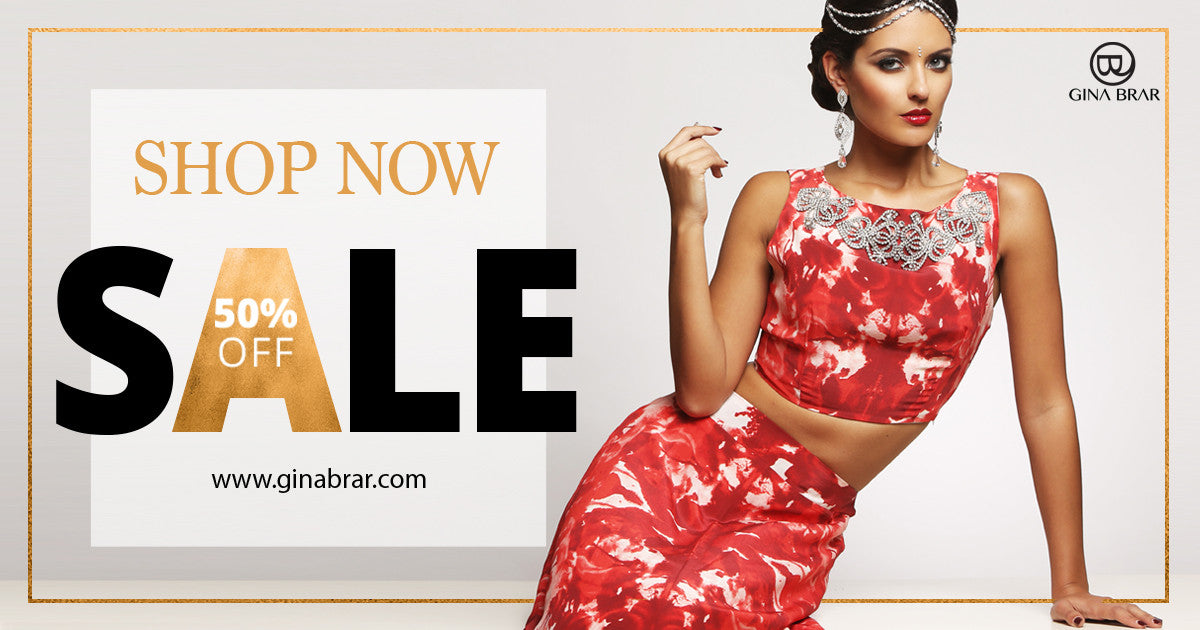SHOP THE GINA BRAR SALE UP TO 50% OFF