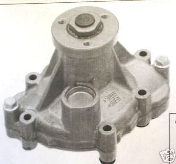 JAGUAR V8 WATER PUMP. 1997-2010, NEW IMPROVED STYLE WITH METAL IMPELLER