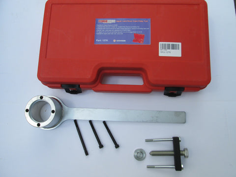 LANDROVER V8 2005-2011 FRONT CRANK PULLEY LOCKING TOOL KIT