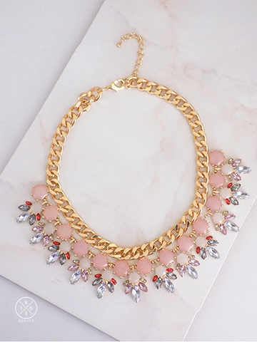 16kt Beauty Sugarplum Statement Necklace